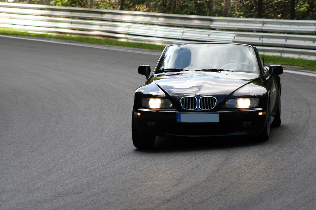 launching bmw z3 roadster hbs case