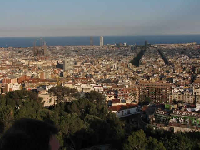 Soubor:Barcelona from Park Guell.jpg