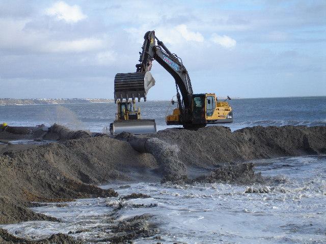 File:Beach refurbishment at Branksome Chine beach - geograph.org.uk - 118179.jpg