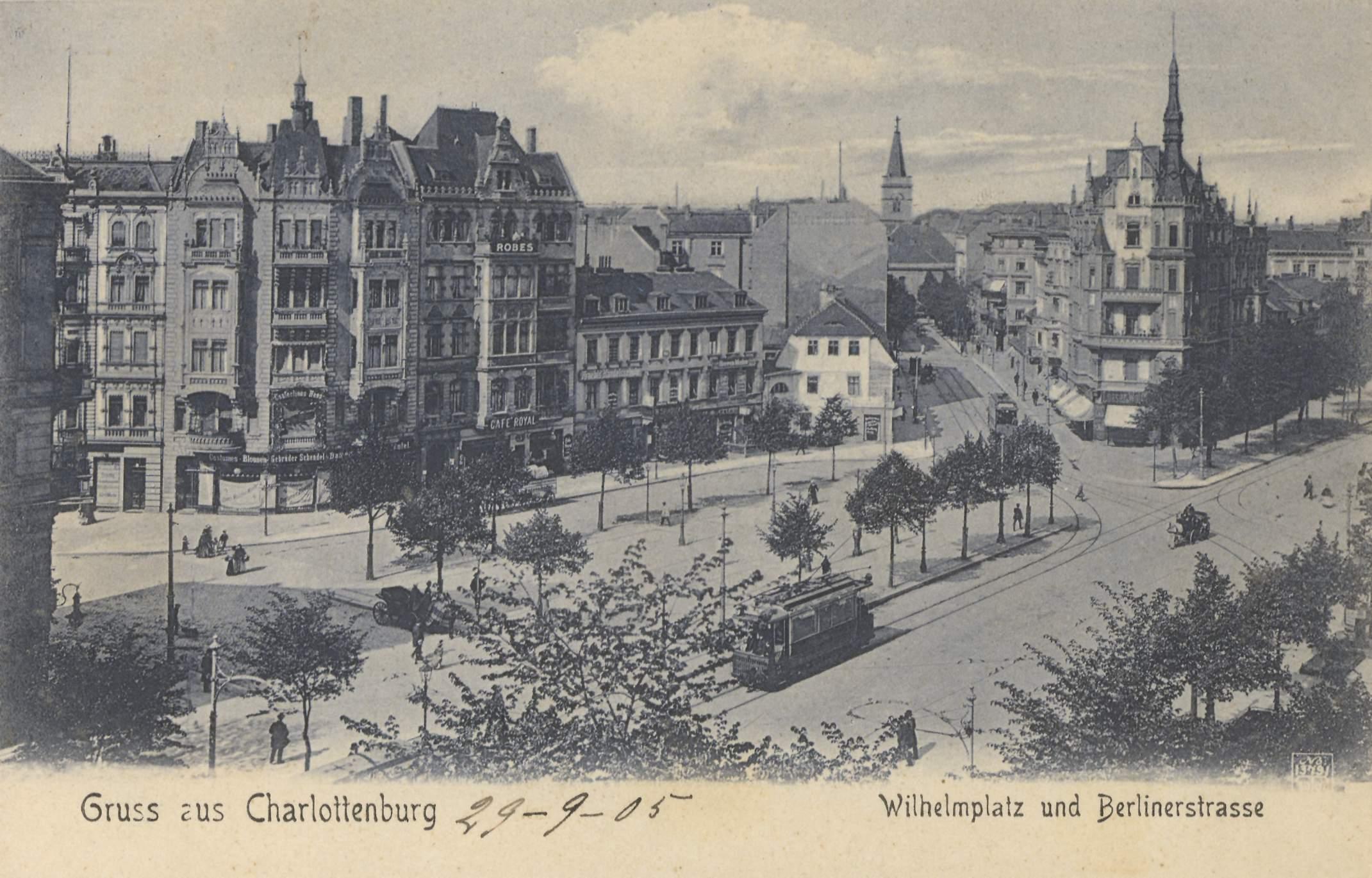 egyetlen lakás berlin charlottenburg