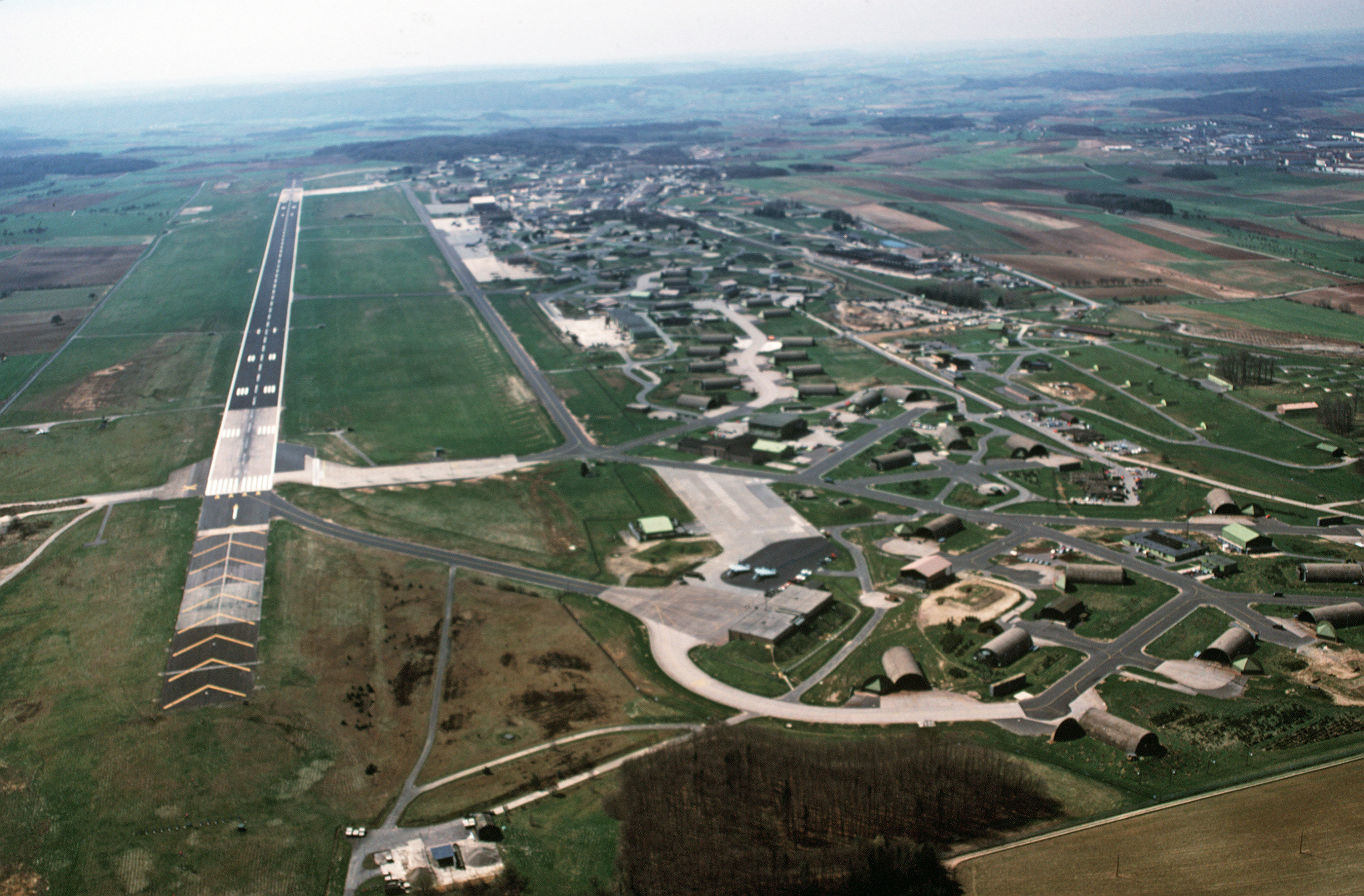 File Bitburg Air Base Looking South West 1988 Jpeg