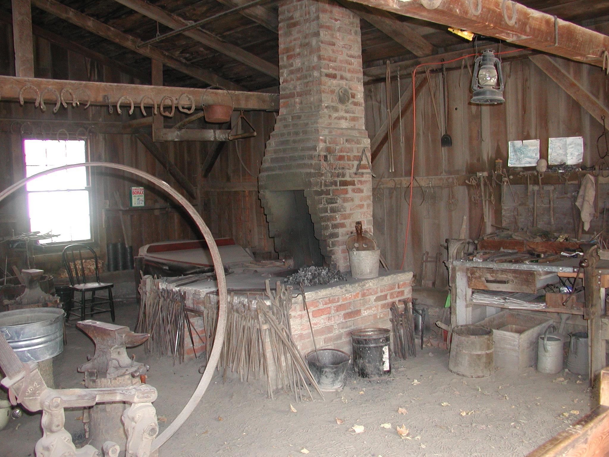 Colonial Blacksmith Forge Galleryhipcom The Hippest