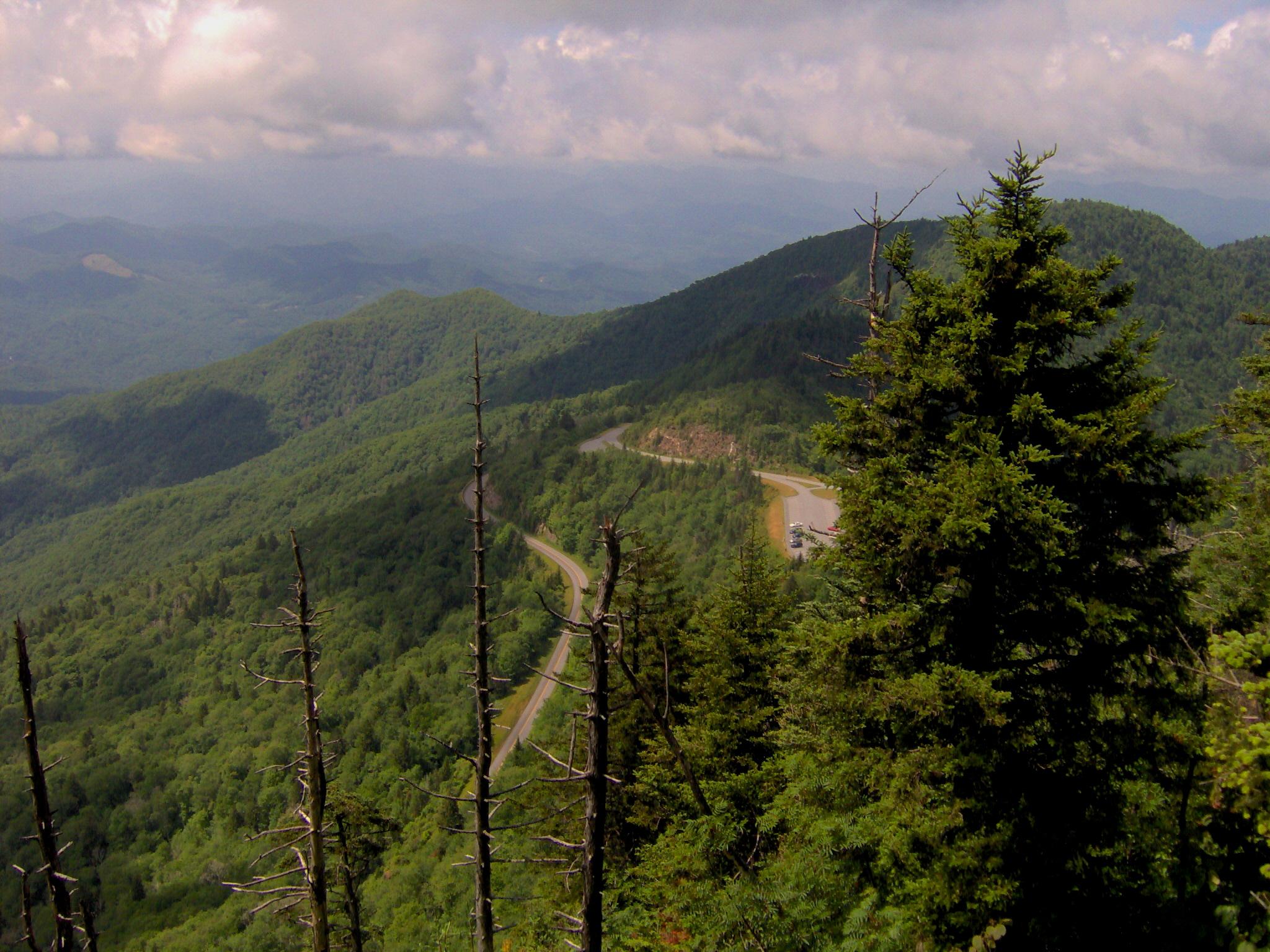 File Blue Ridge Pkwy Waterrock Knob Nc1 Jpg Wikimedia