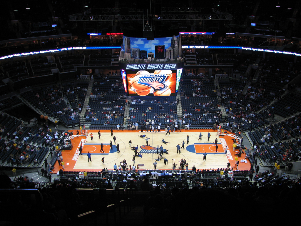 The Time Warner Cable Arena | Charlotte Hot Spots | If You'-re Hot ...