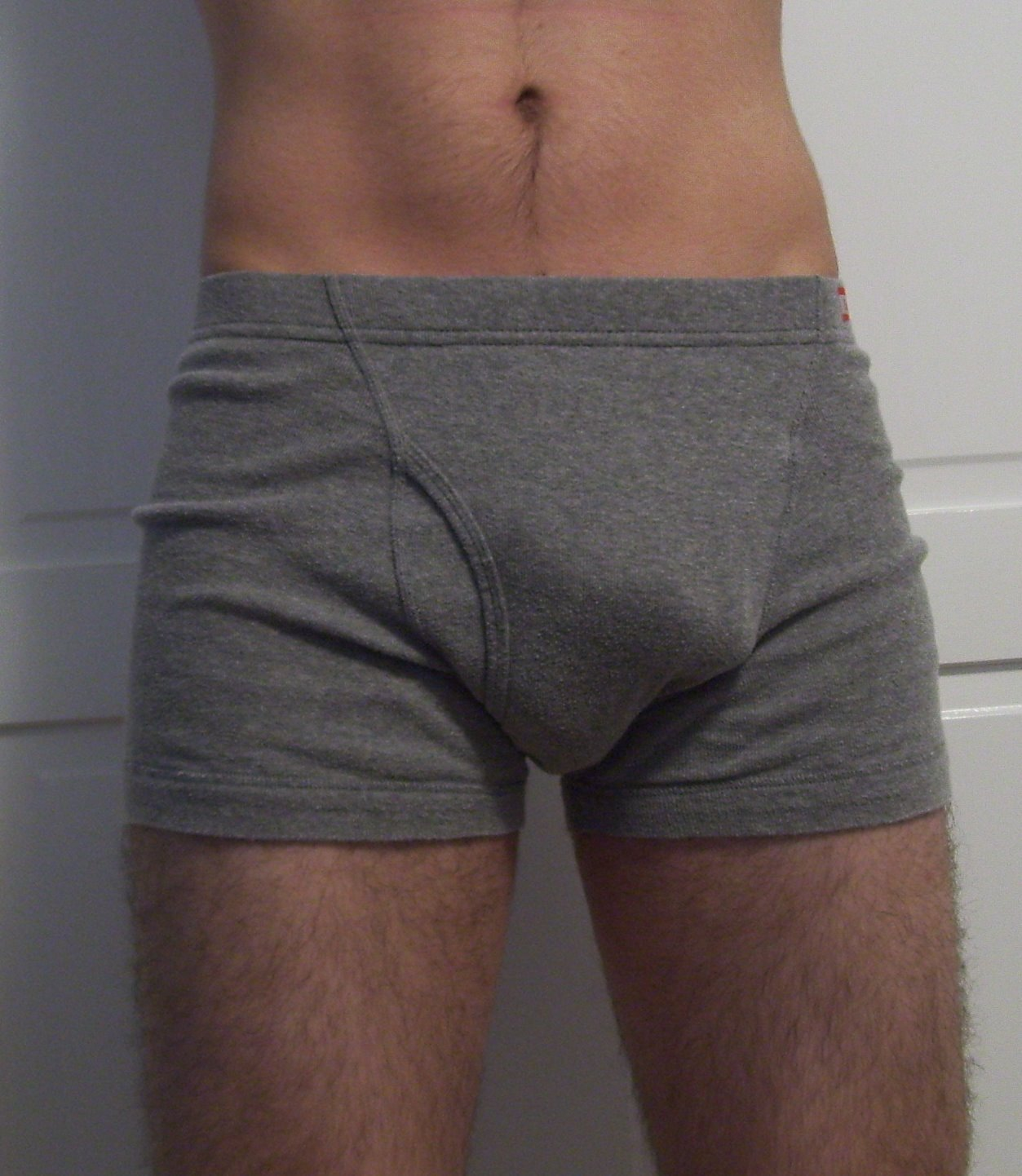 Men Boner in Boxer Briefs