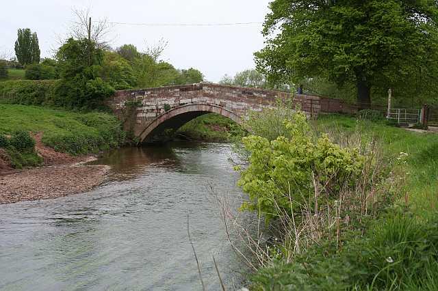 Bridge over the River Dane - geograph.org.uk - 1289702
