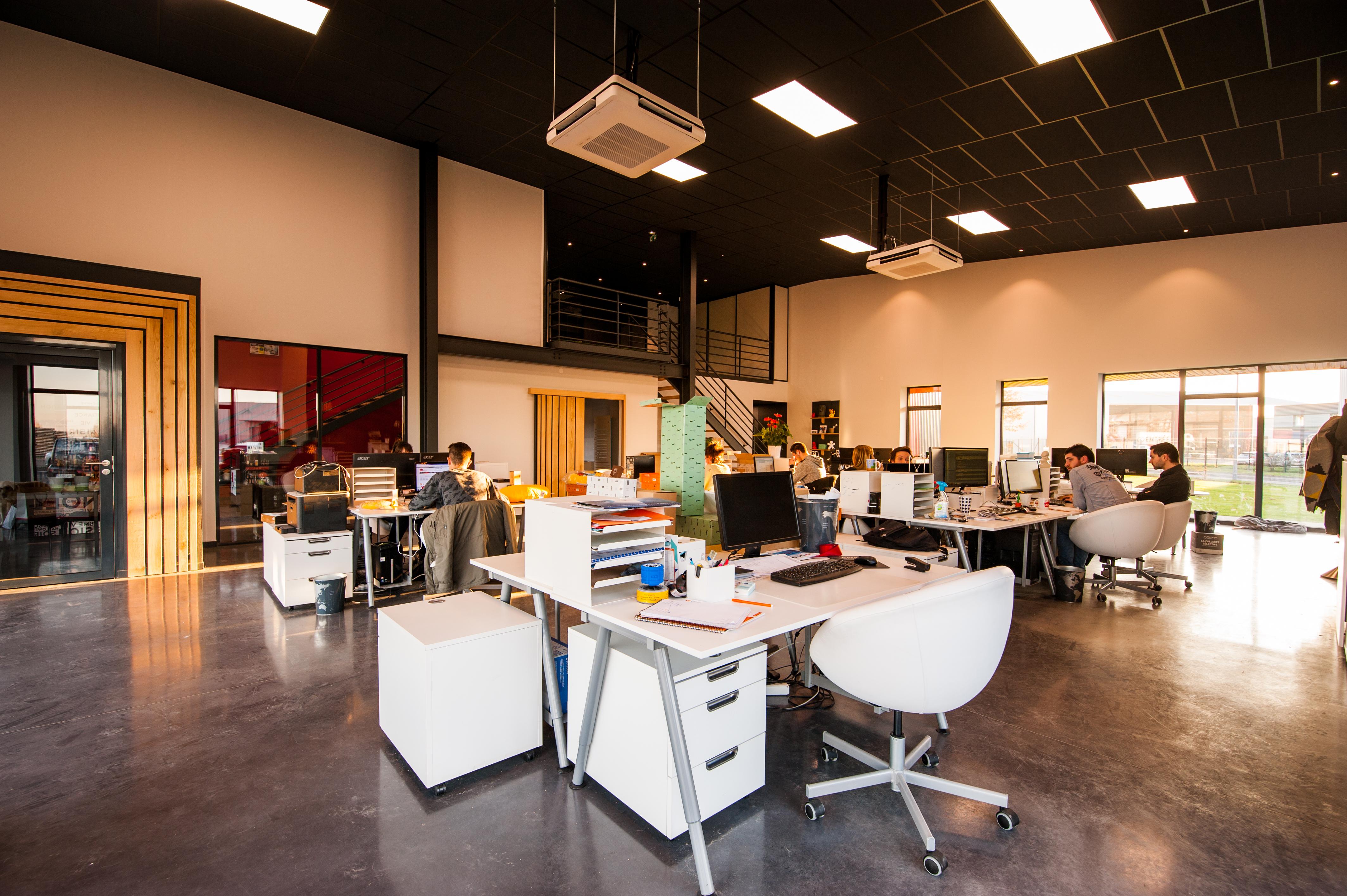Deux européens sur trois travaillent en bureau partagé
