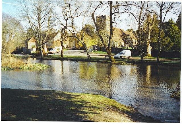 Buriton village pond - geograph.org.uk - 98751