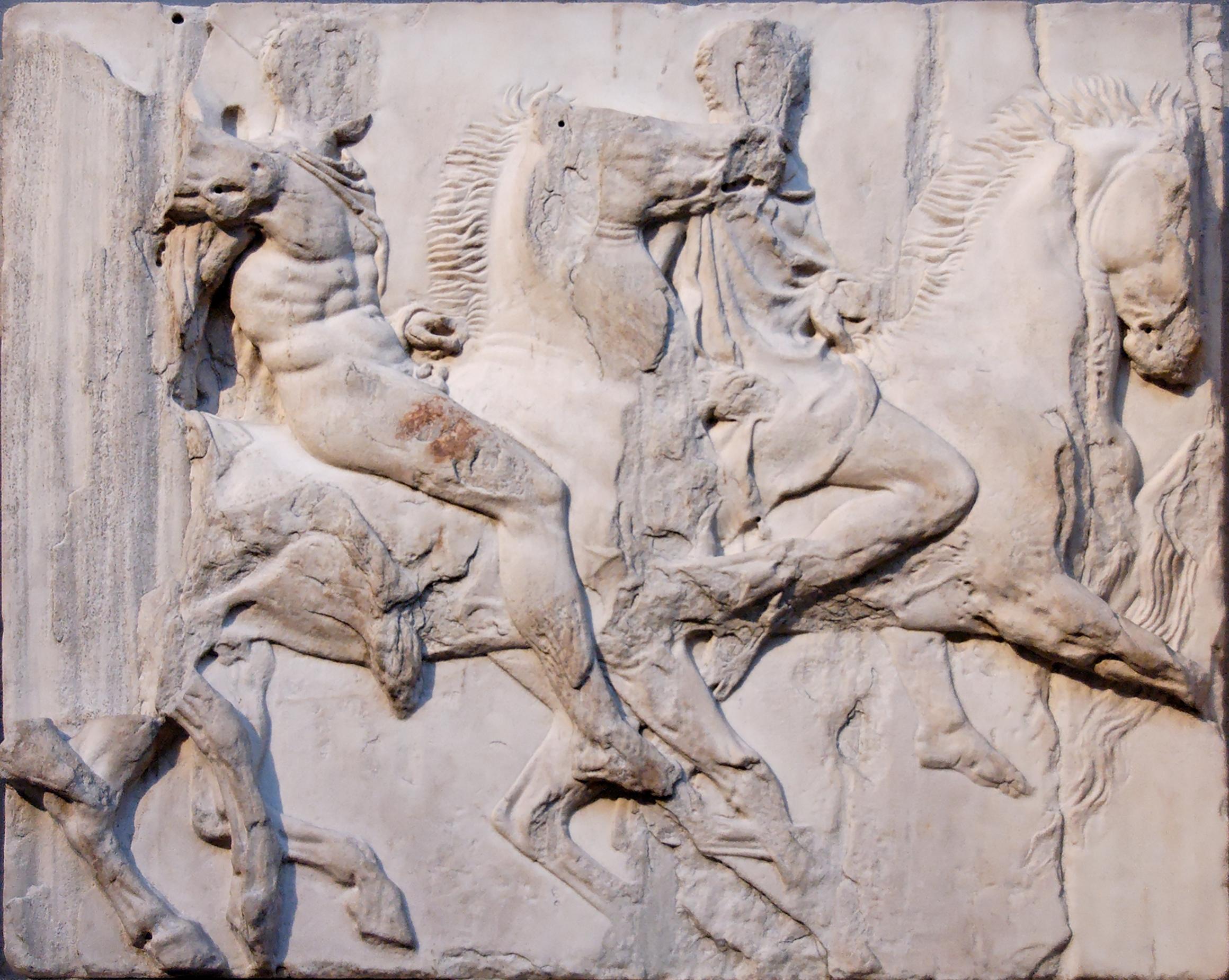 sculpture greek contributions