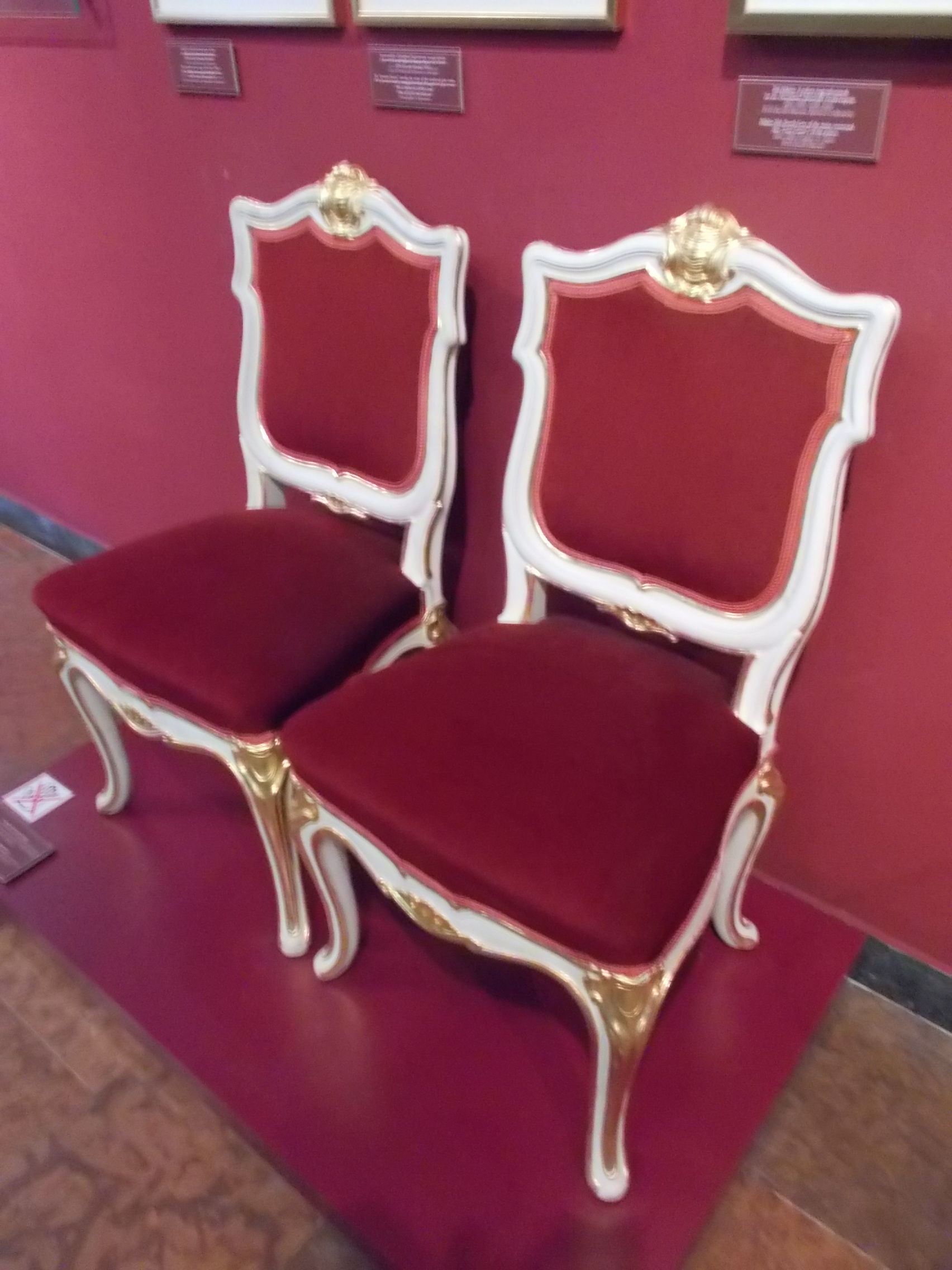 file:chair for king's dining room (1901), 2017 buda castle palace