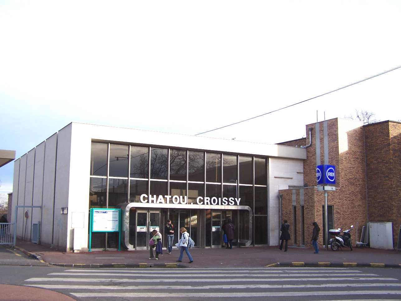 Chatou croissy paris rer wikipedia for Rer wikipedia