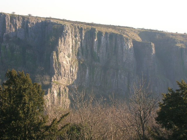 Cheddar Gorge cliffs - geograph.org.uk - 1568806
