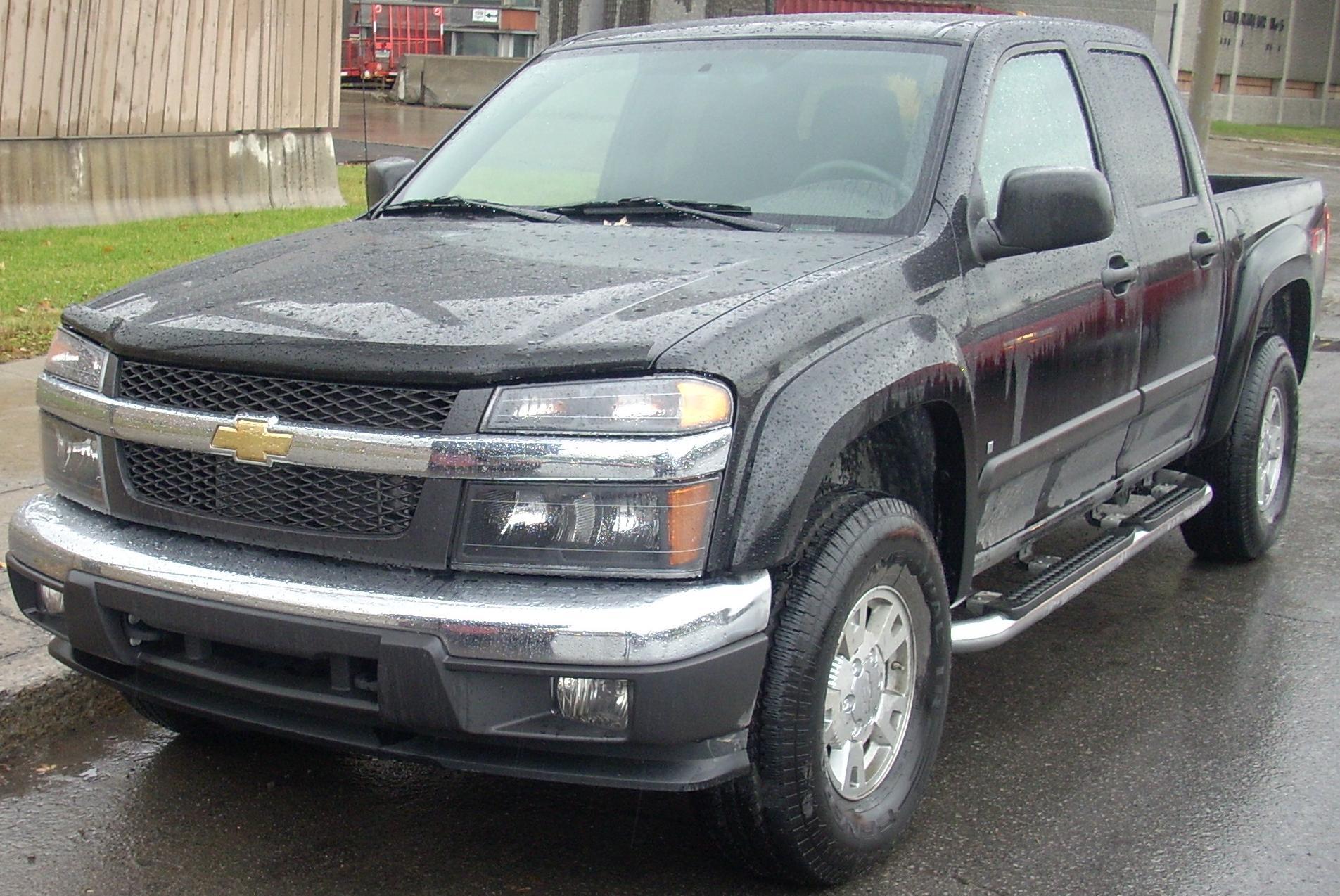 Description Chevrolet Colorado Crew Cab.JPG