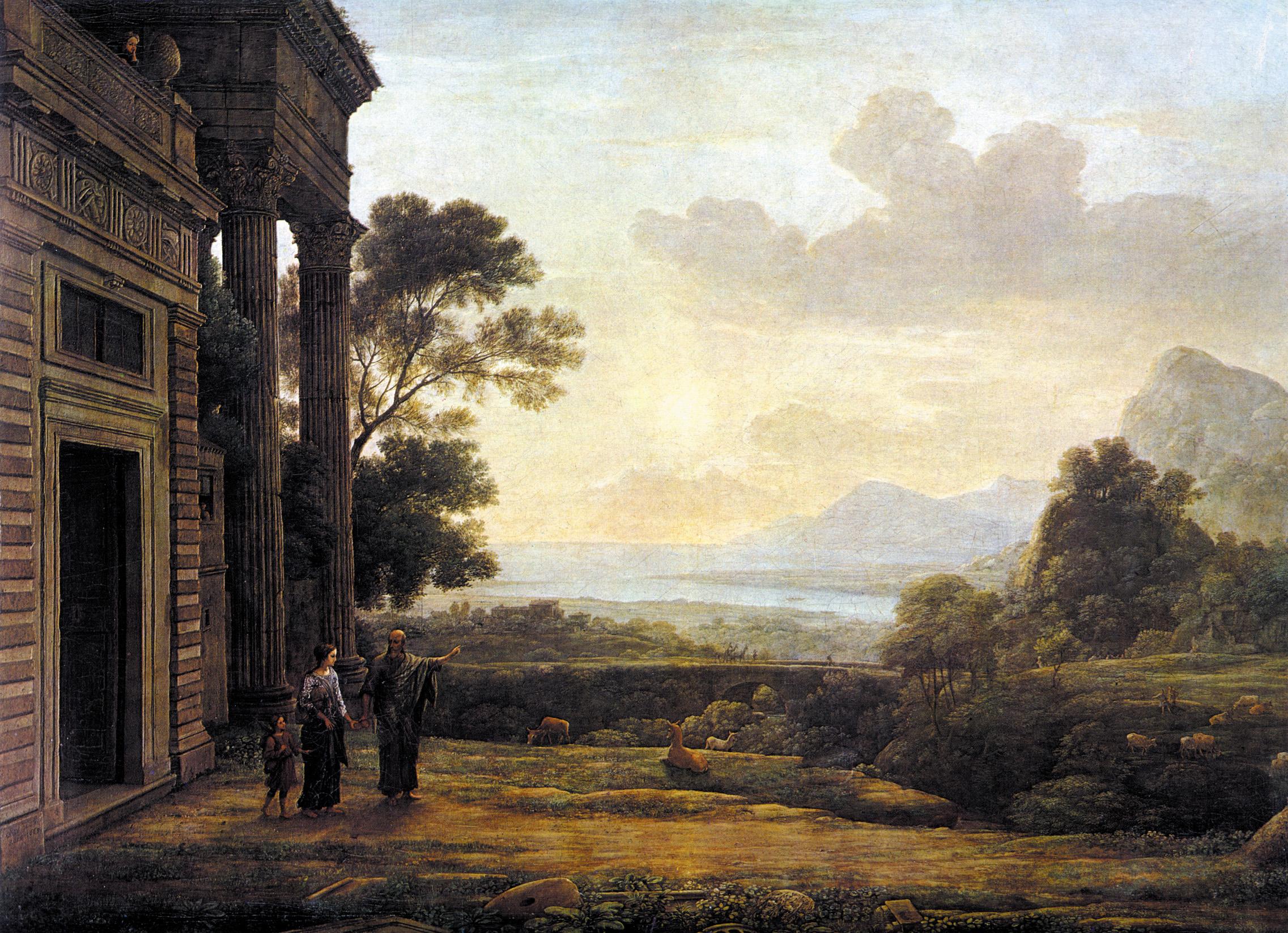 Landschaftsmalerei barock  Claude Lorrain – Wikipedia
