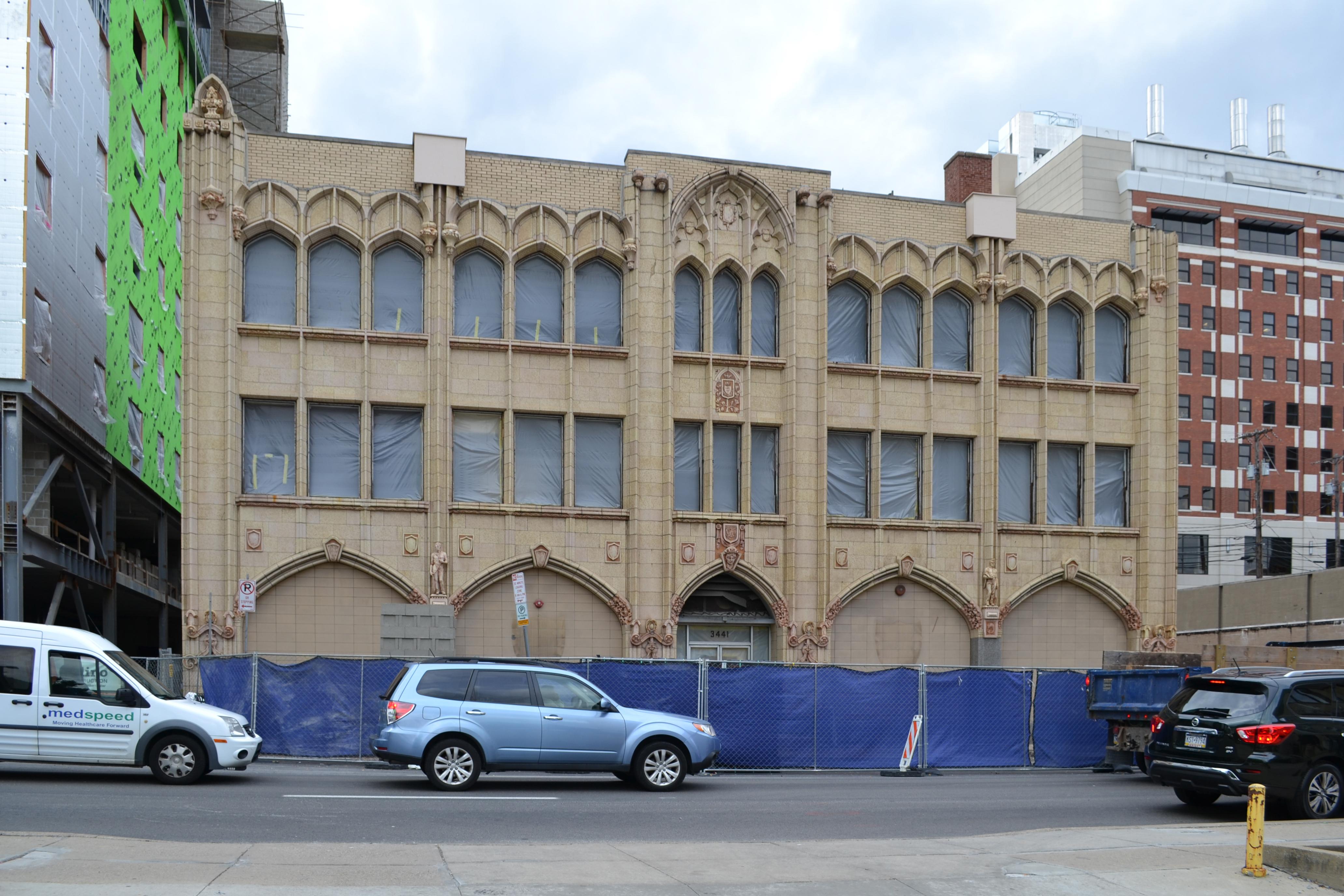 former CFU building