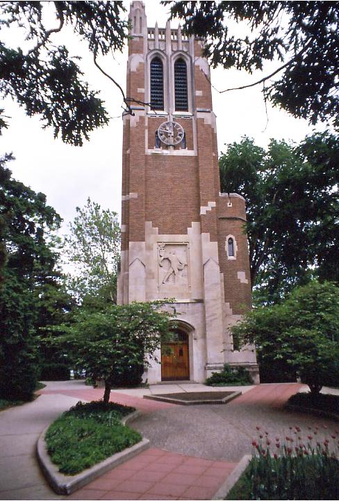 1929 : MSU Beaumont Tower Dedicated