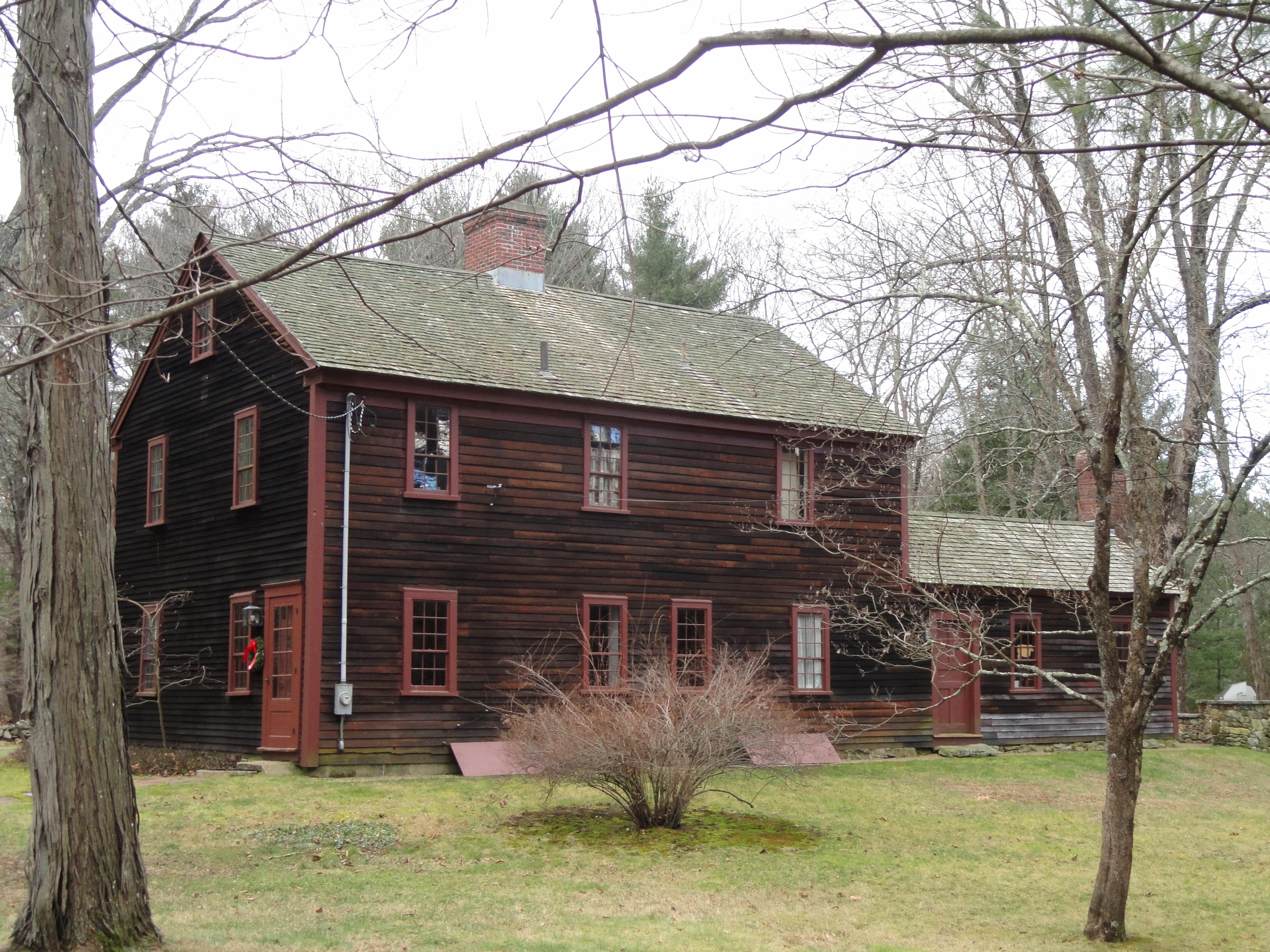 File deacon william leland house sherborn massachusetts for Leland house