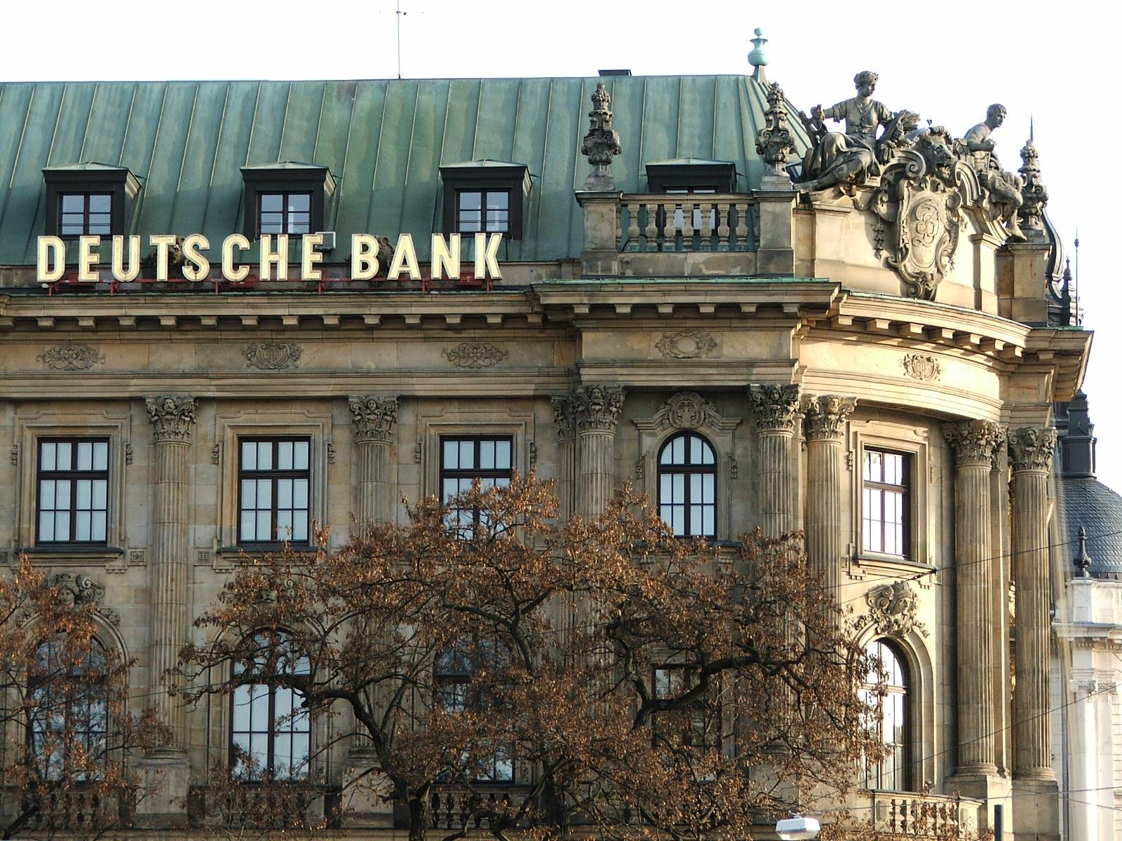 Resultado de imagem para deutsche bank