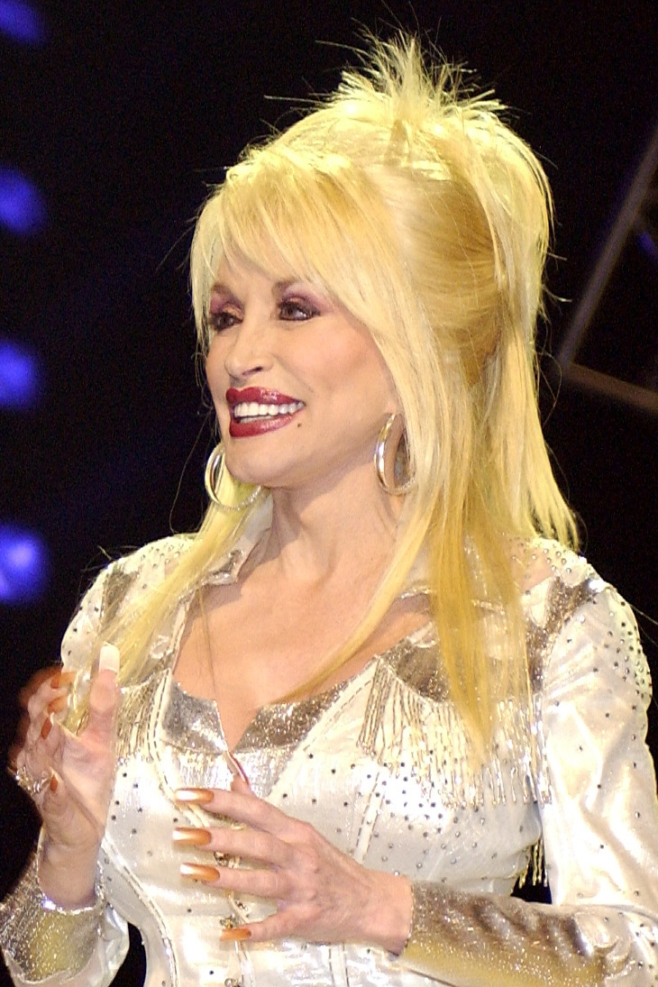 Dolly Parton Natural Hair