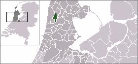 Location of Alkmaar