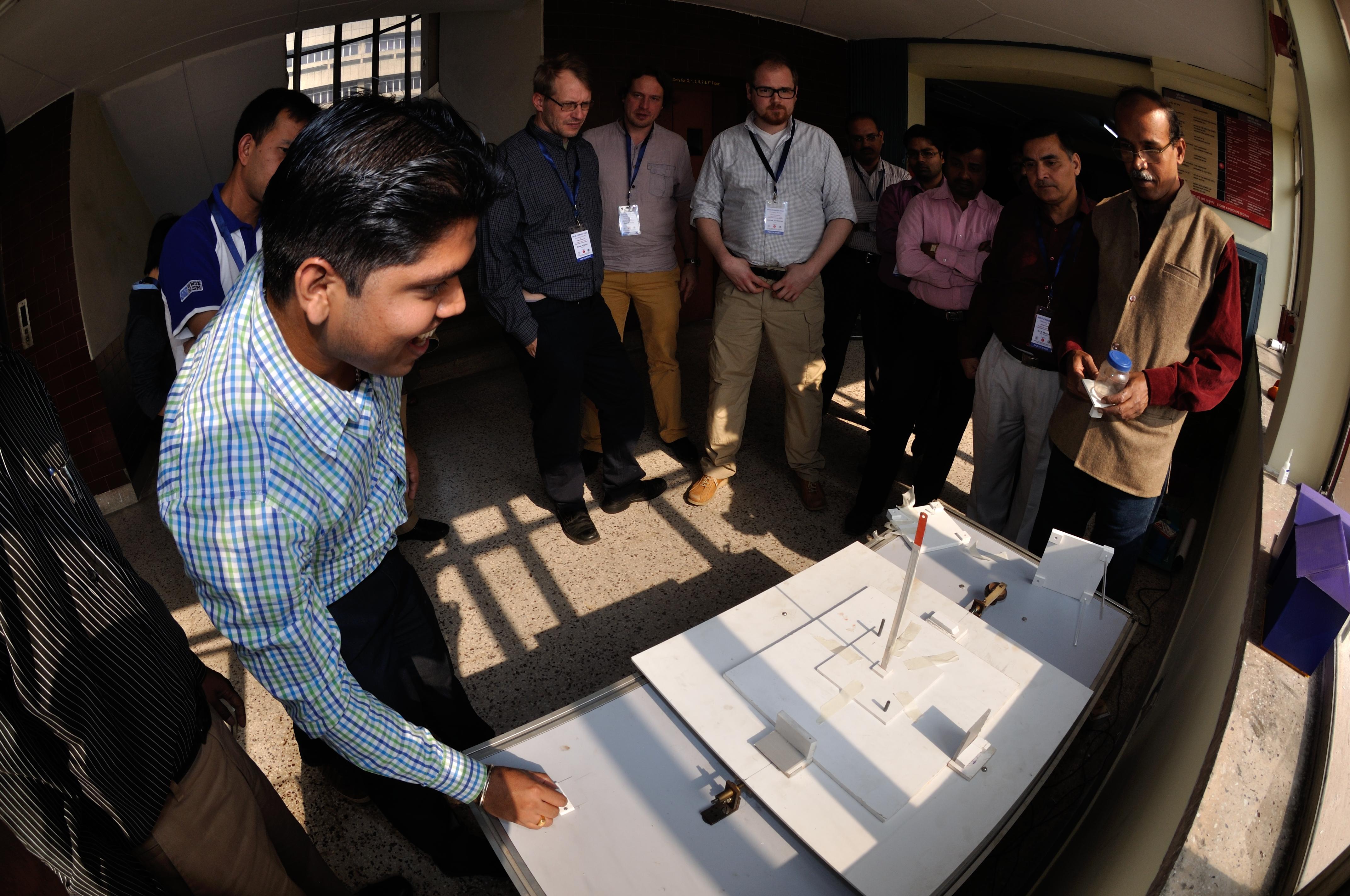 Earthquake Shake Table Wards Natural Science