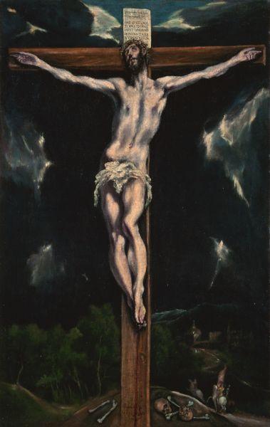 ファイル el greco christ on the cross jpg wikipedia