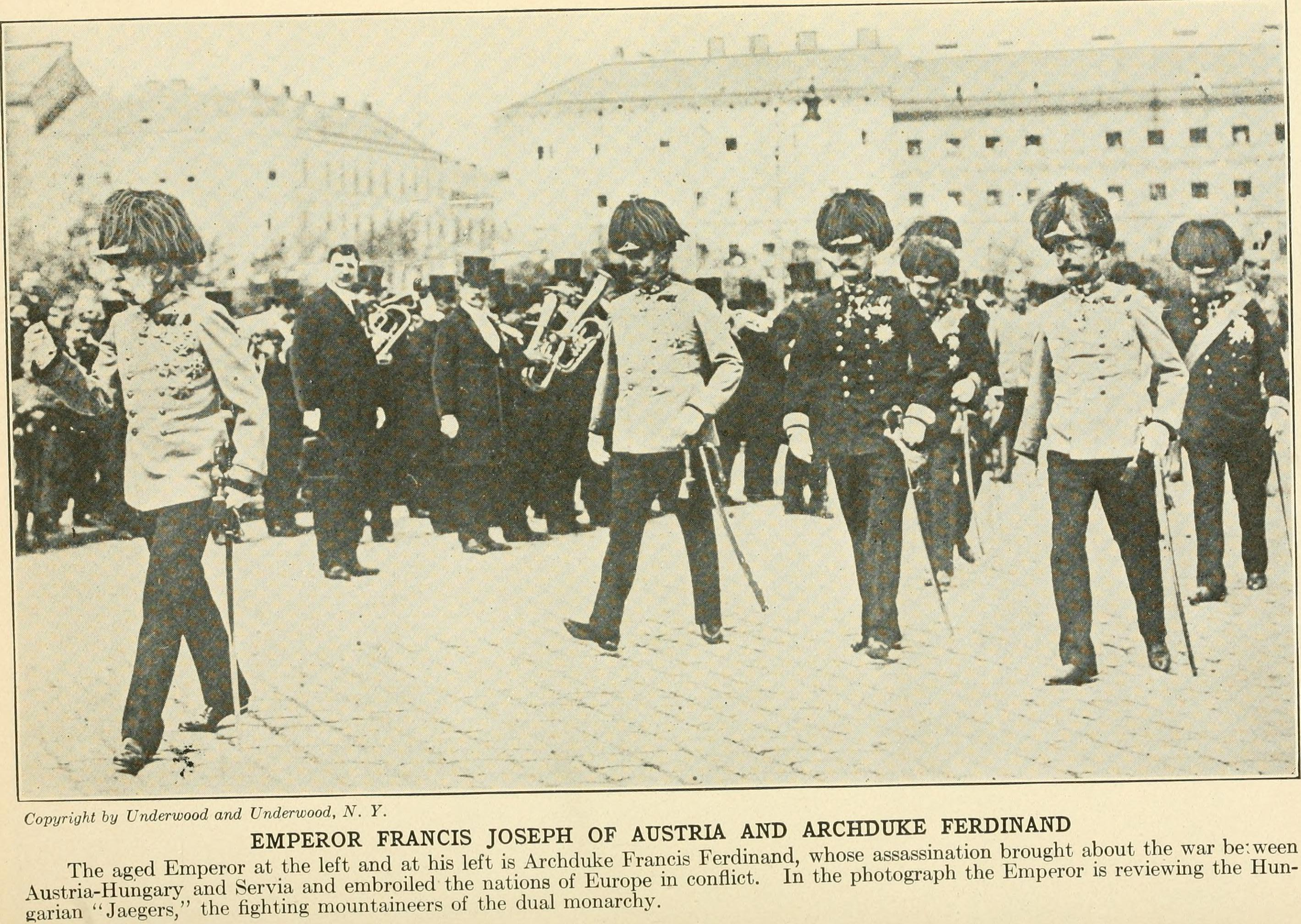 a biography of franz ferdinand the archduke of austria Here are some interesting facts about the archduke franz ferdinand archduke franz ferdinand was a hungarian prince, a bohemian prince and an austrian archduke he was the heir to the throne of austria-hungary from 1896 until his death.
