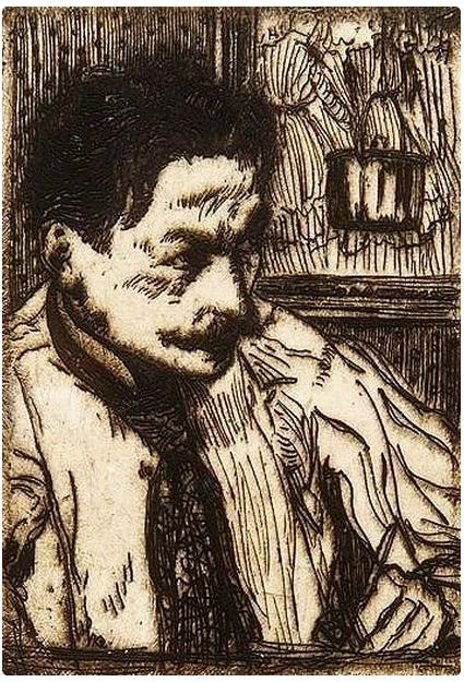 Image of Henri Evenepoel from Wikidata