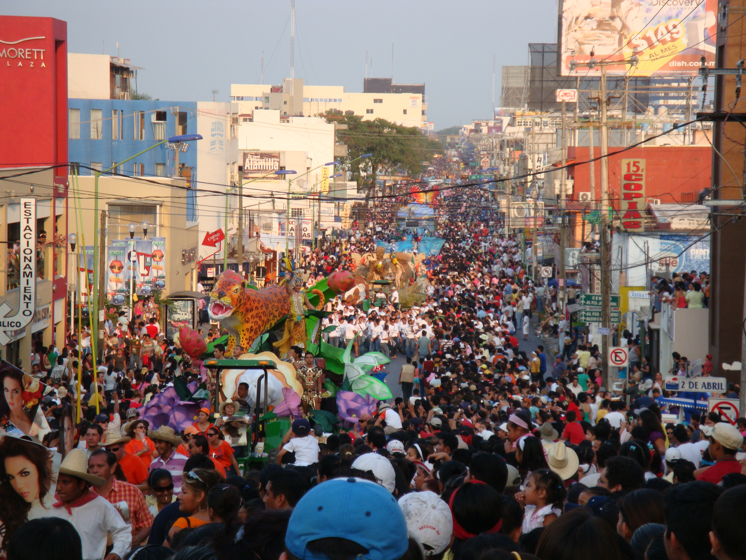 Description Feria Tabasco.Desfile carros.jpg