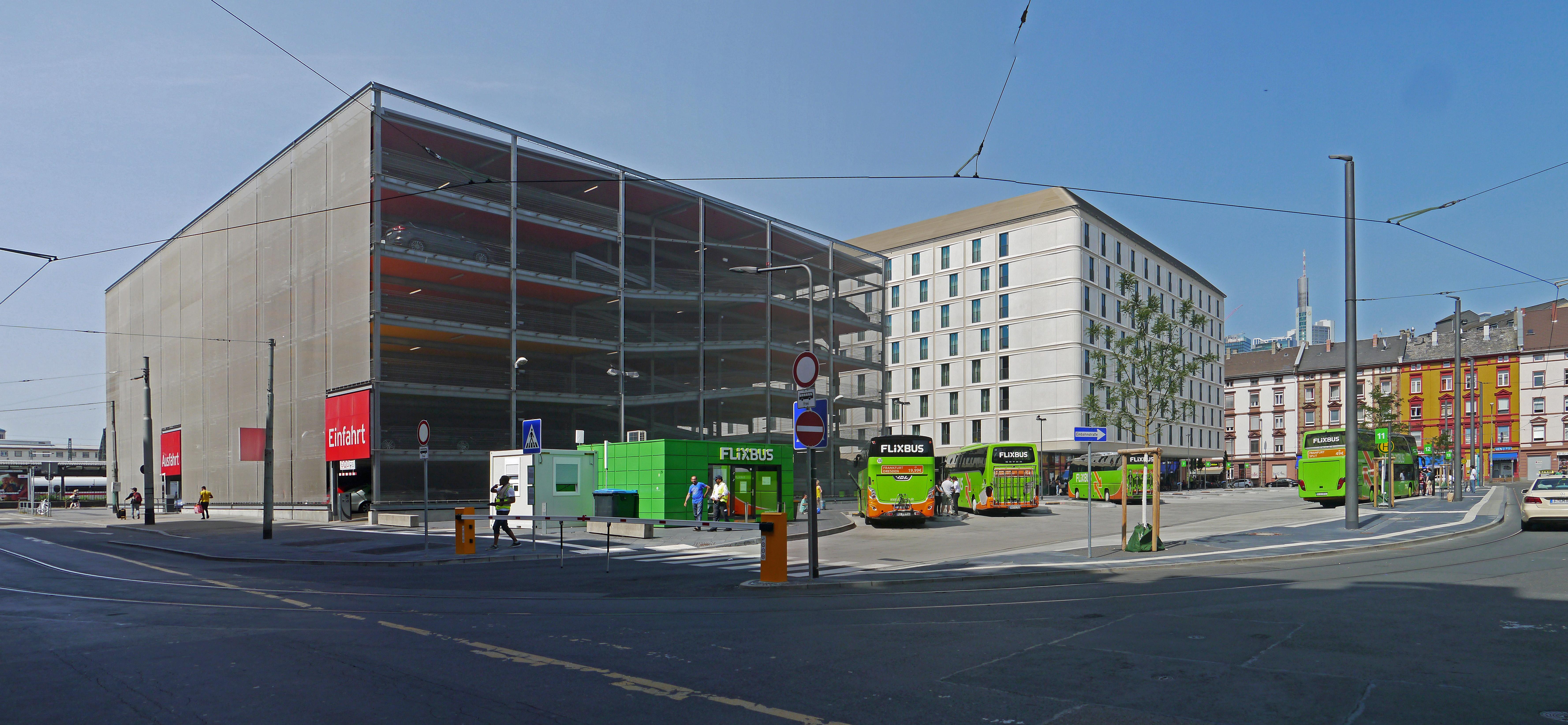 Bushaltestellen Frankfurt