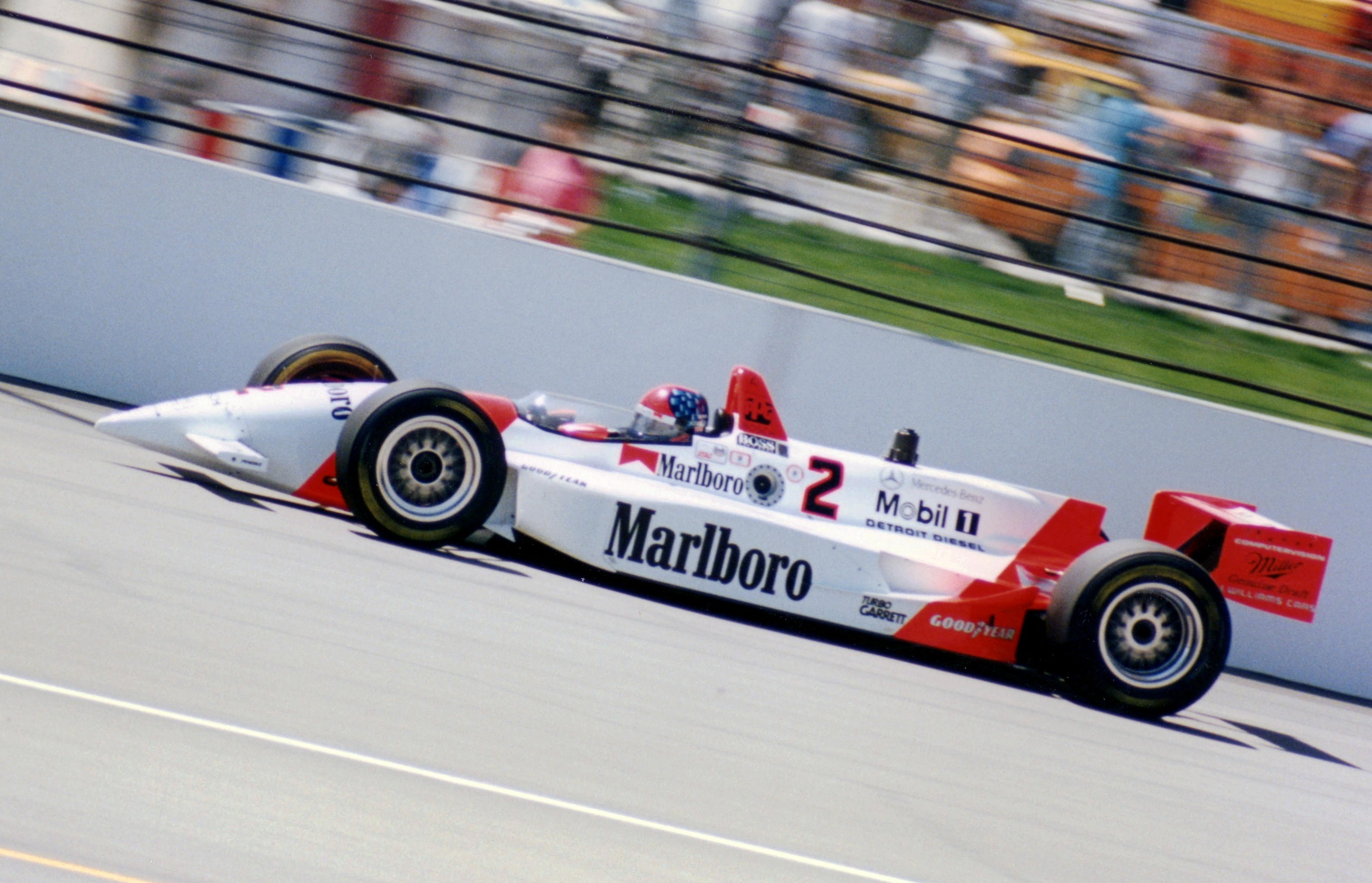 Indy Car Crash