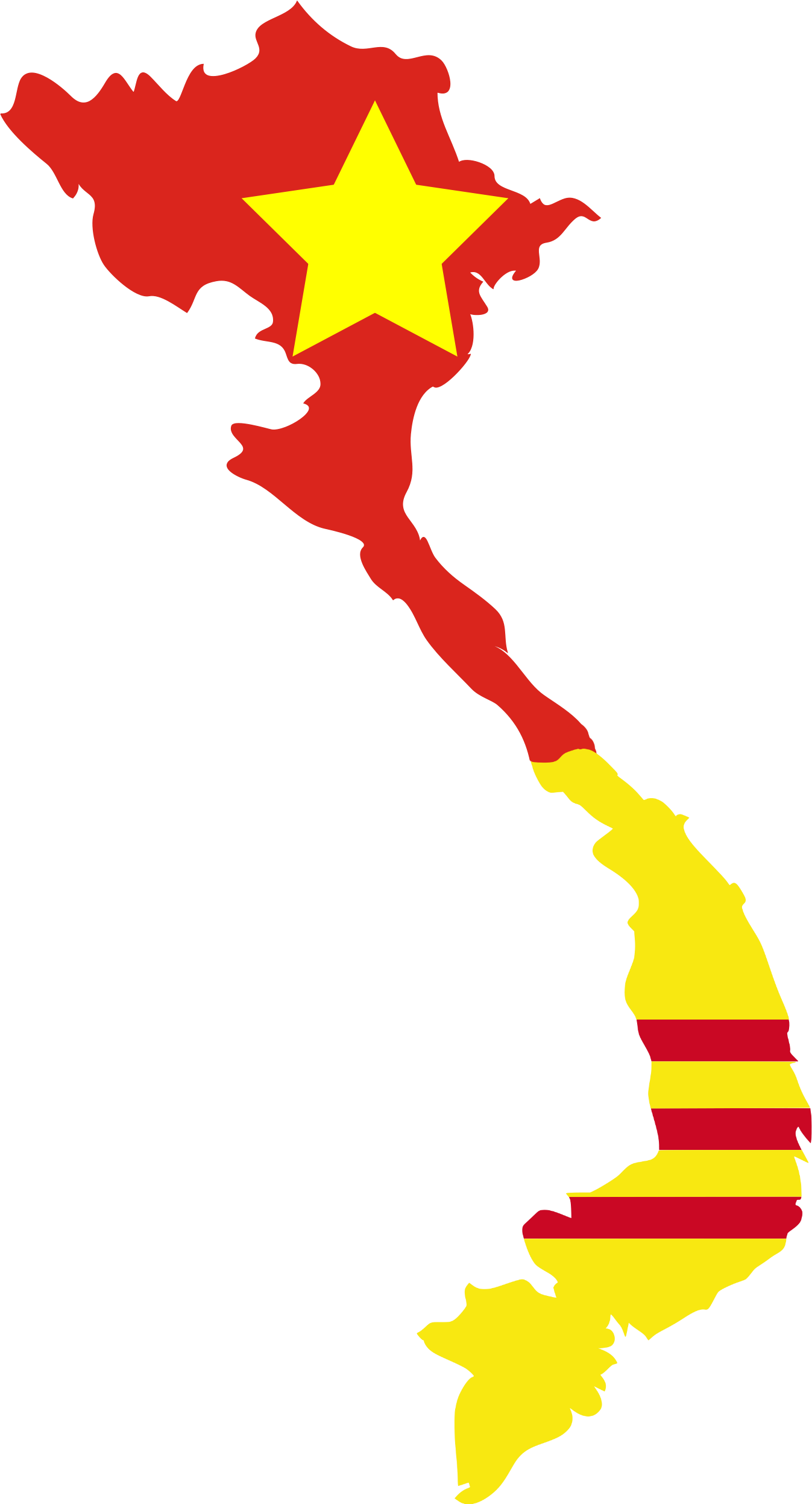 File:Flag map of North & South Vietnam.png   Wikimedia Commons