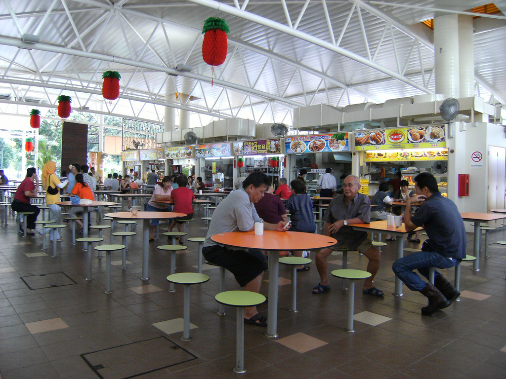 Food Court Singapore Foodcourt