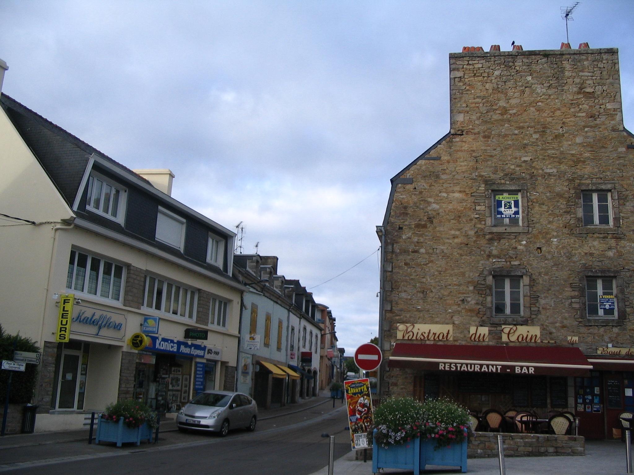 Centre Ville Fouesnant Bradrerie