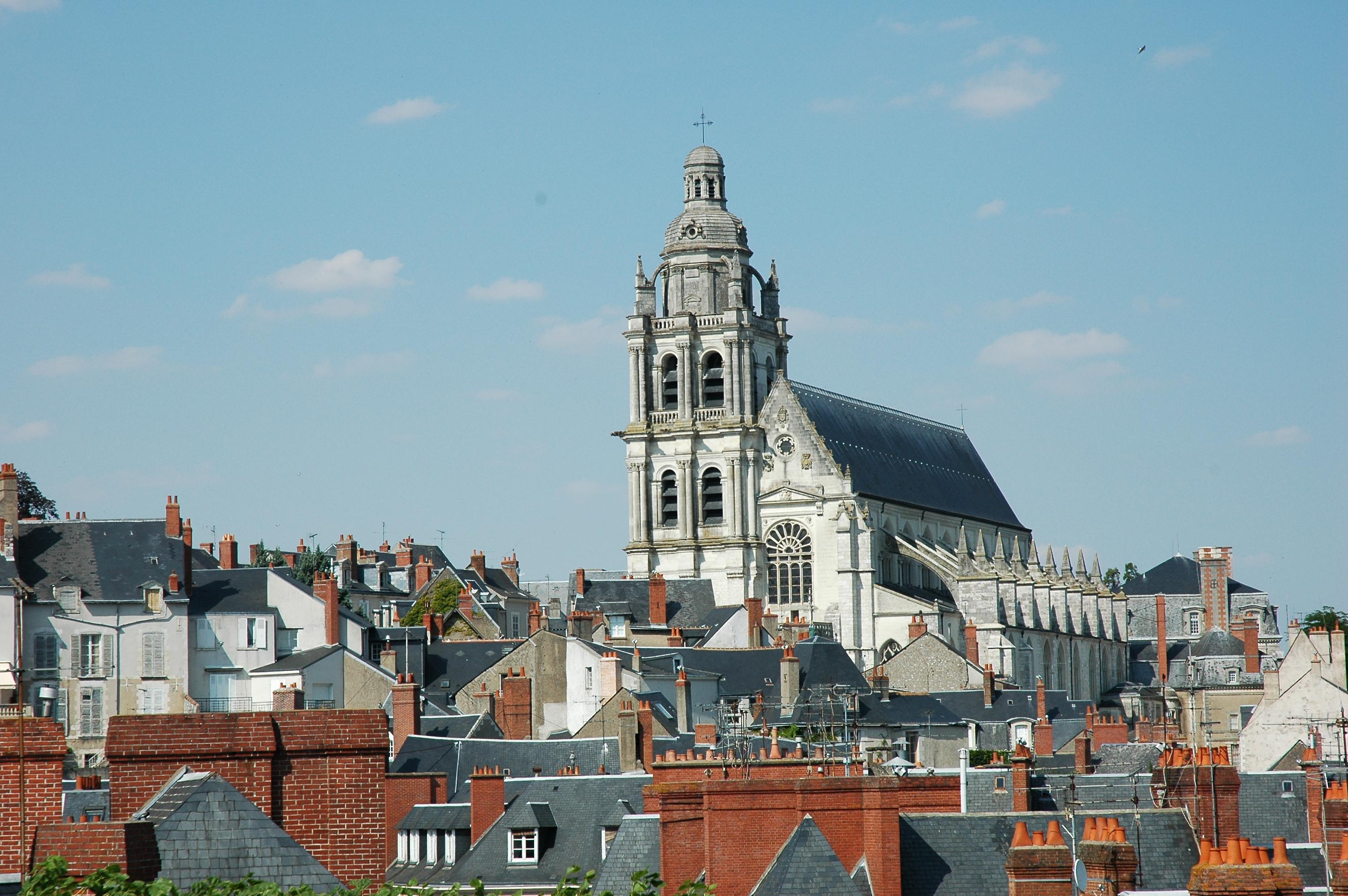 File france loir et cher blois cathedrale saint louis 01 jpg wikimedia commons - Www cuisine en loir et cher fr ...