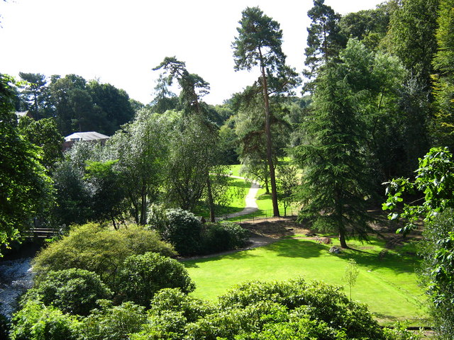 Gardens at Quarry Bank Mill - geograph.org.uk - 1464995