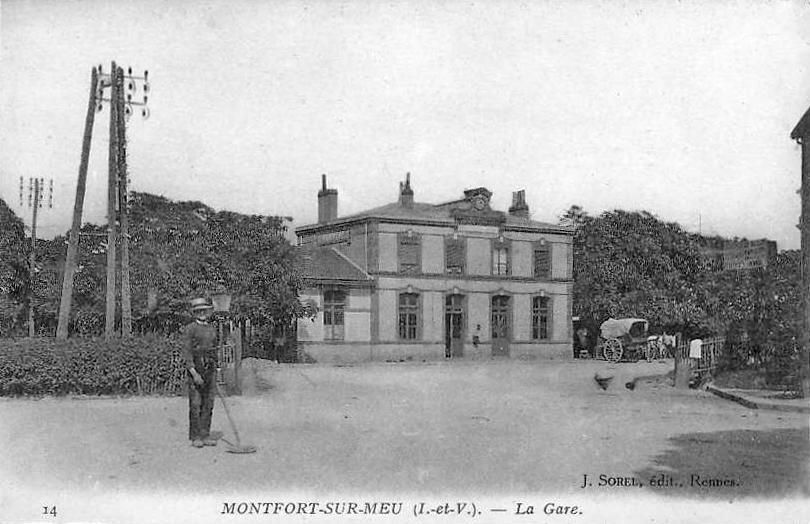 Balade Gare Montfort/Meu (Monforz)  [15/05/18] GareMontfortsurMeu1900_2