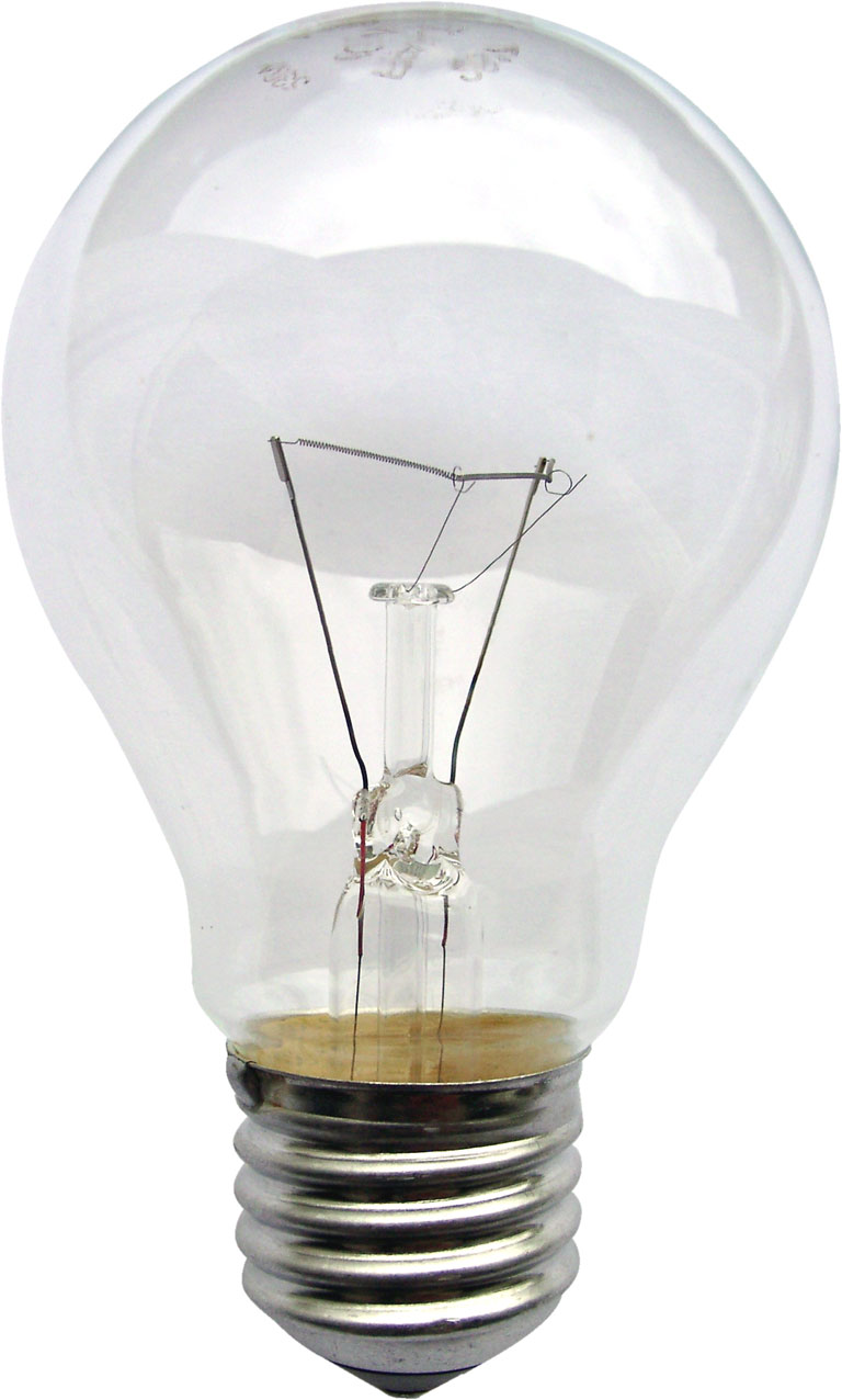 Opinions on incandescent light bulb Fluorescent light bulb