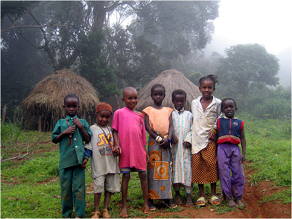 Children in Guinea