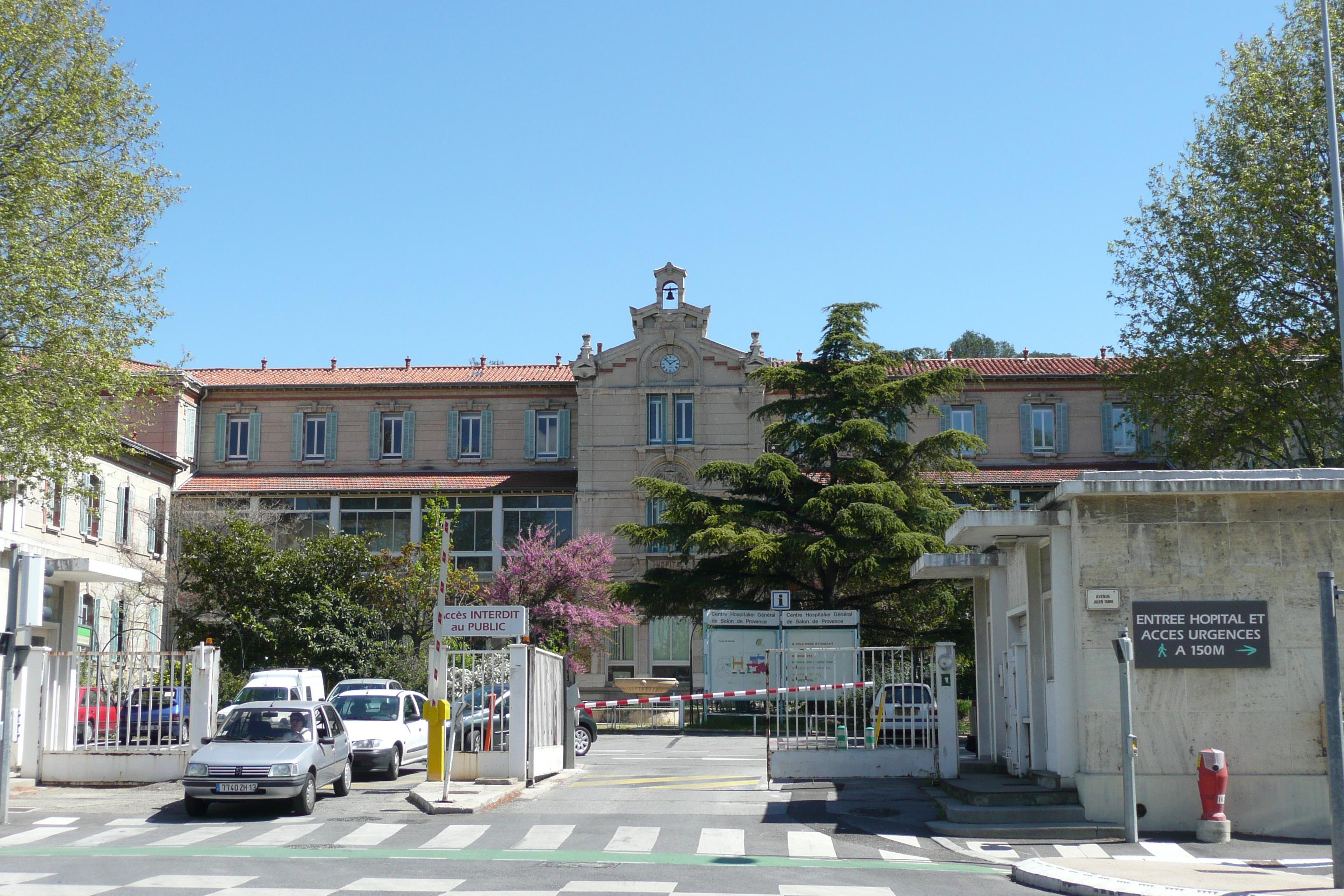 File h pital de salon de provence jpg wikimedia commons - Salon des gourmets salon de provence ...
