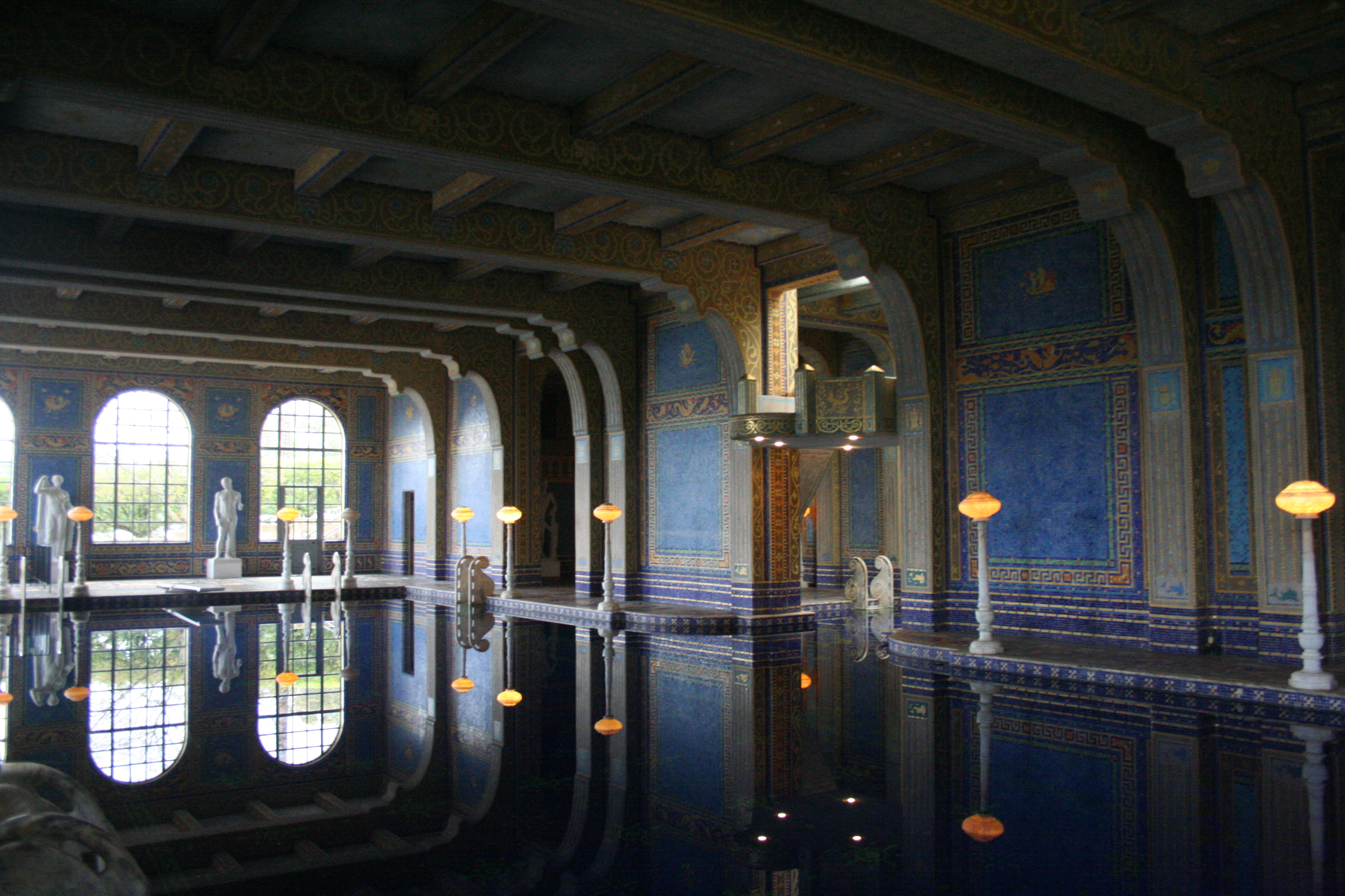 Boldt Castle Floor Plan File Hearst Castle Indoor Pool Jpg Wikimedia Commons