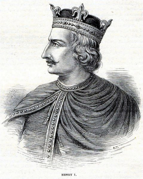 Henry I of England - Illustration from Cassell's History of England - Century Edition - published circa 1902.jpg
