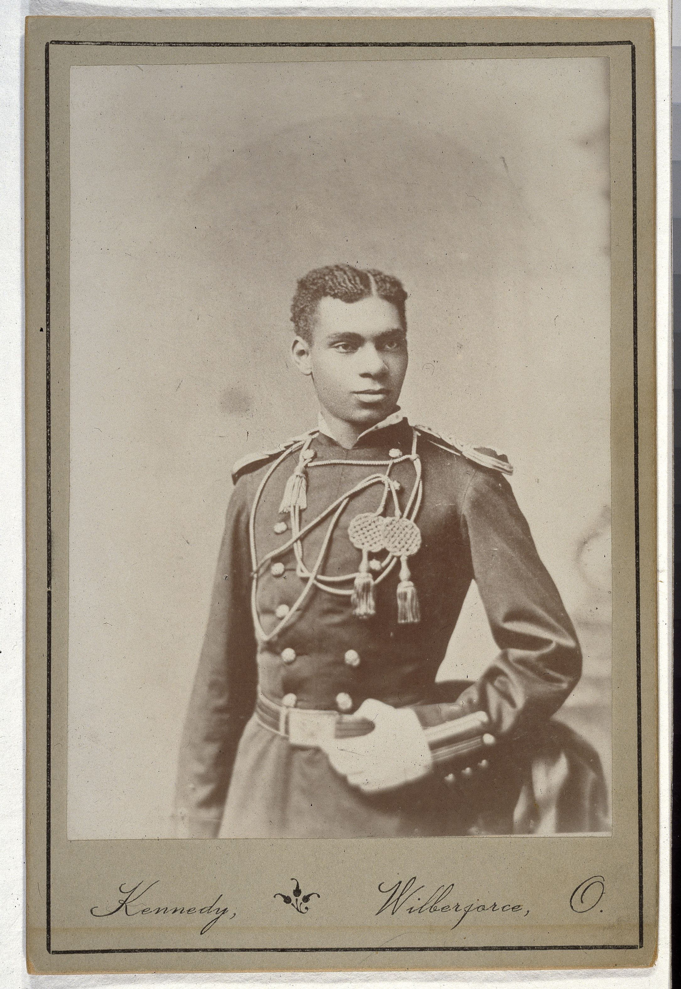 Henry Flipper, the first centaur in the United States Army.