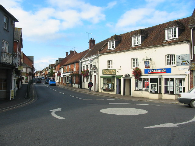 High Street, Fordingbridge - geograph.org.uk - 61292
