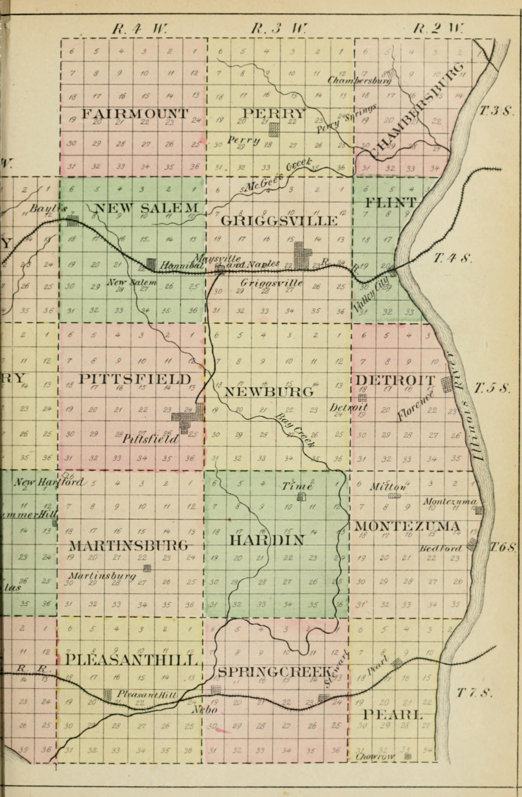 Illinois pike county griggsville - File History Of Pike County Illinois Together With Sketches Of Its Cities