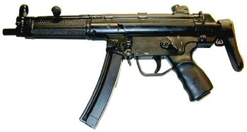The Heckler & Koch MP5 submachine gun is widely used by law enforcement, tactical teams and military forces - Republic of Korea Naval Special Warfare Flotilla