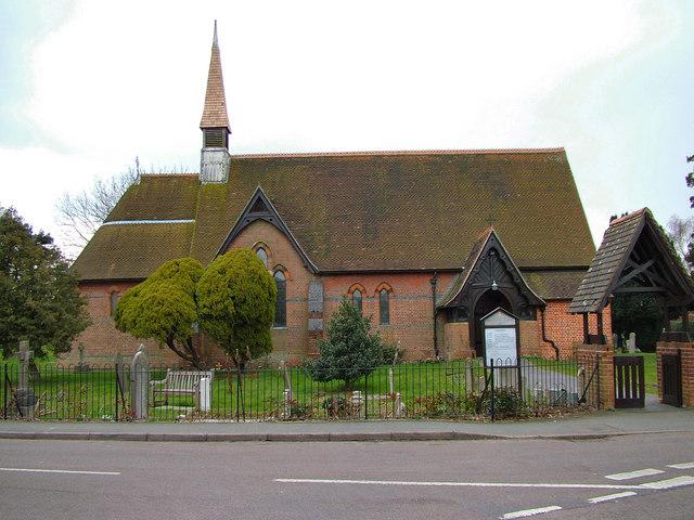 Holy Trinity Church, Hertford Heath - geograph.org.uk - 135402