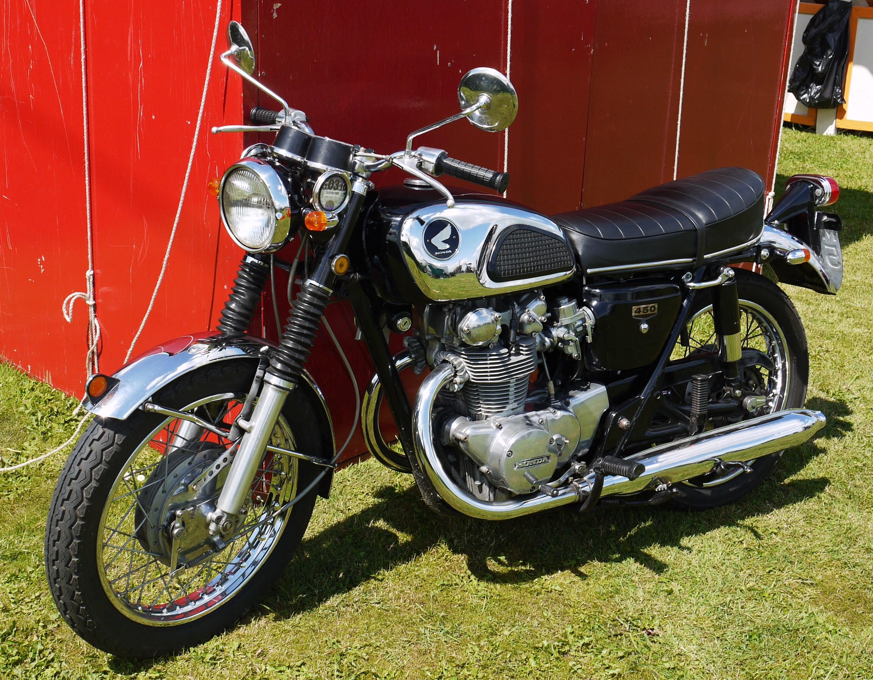 File:Honda 450cc Black er - Flickr - mick - Lumix.jpg ...