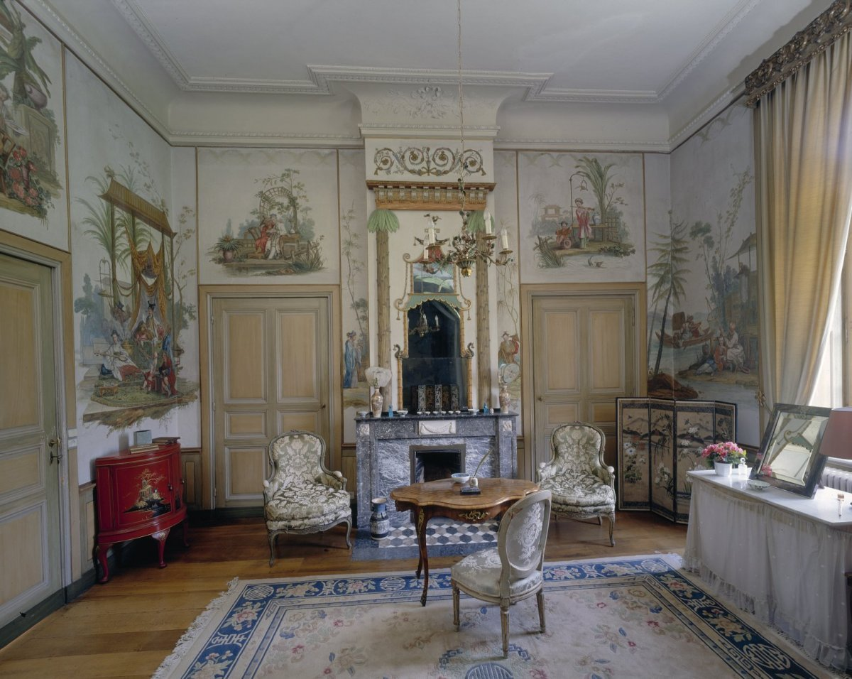File:Interieur Chinese kamer, ingericht door Pierre Michel de ...