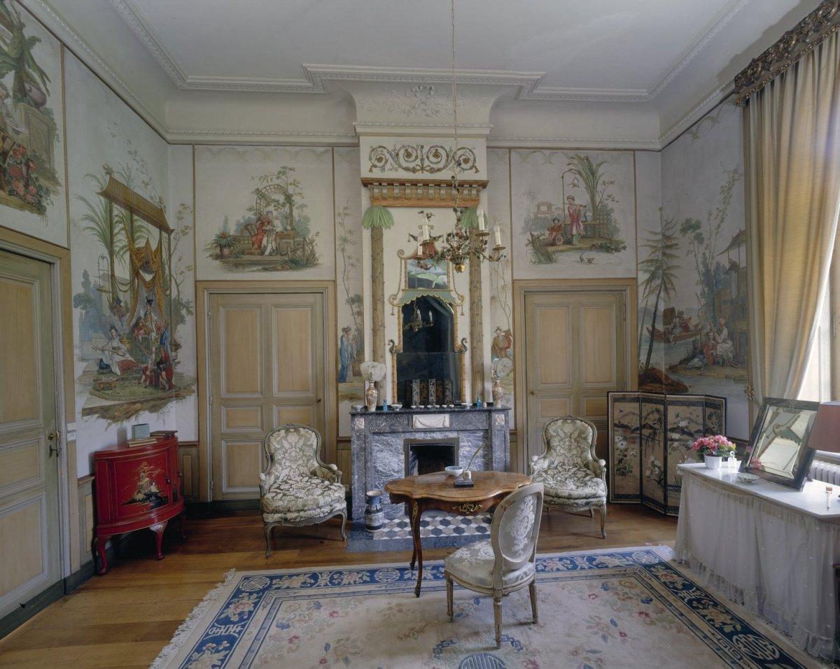 File interieur chinese kamer ingericht door pierre michel for Kamer interieur